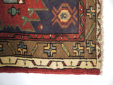 21717 - Hamadan Hand-Knotted/Handmade Persian Rug/Carpet Traditional Authentic
