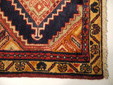 21718 - Hamadan Hand-Knotted/Handmade Persian Rug/Carpet Traditional Authentic