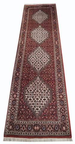 21723-Bidjar Hand-Knotted/Handmade Persian Rug/Carpet Tribal/Nomadic Authentic