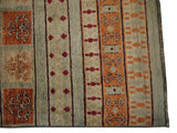 21750-Chobi Ziegler Hand-Knotted/Handmade Afghan Rug/Carpet Modern Authentic