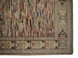 21770-Chobi Ziegler Hand-Knotted/Handmade Afghan Rug/Carpet Modern Authentic