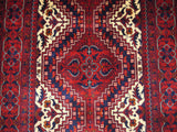 21914-Khal Mohammad Hand-Knotted/Handmade Afghan Rug/Carpet Tribal/Nomadic Authentic