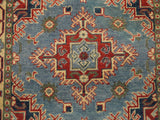 21986 - Kazak Hand-Knotted/Handmade Afghan Rug/Carpet Traditional Authentic
