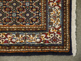 22073 - Moud Hand-Knotted/Handmade Persian Rug/Carpet Traditional Authentic