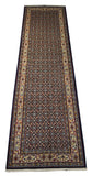 22076 - Moud Hand-Knotted/Handmade Persian Rug/Carpet Traditional Authentic