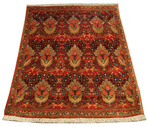 "22217 - Abadeh Hand-Knotted/Handmade Persian  Rug/Carpet Tribal/Nomadic Authentic/Size 3'0"" x 1'9"""