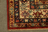 22468 - Kazak Hand-Knotted/Handmade Afghan Tribal/Nomadic Authentic