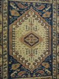 "15239-Kars Hand-Knotted/Handmade Turkish Rug/Carpet Tribal/Nomadic Authentic 5'0"" x 3'3"""