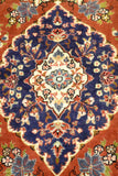 13307-Ghom Hand-knotted/Handmade Persian Rug/Carpet Traditional Authentic