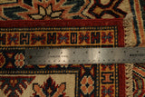 22460 - Kazak Hand-Knotted/Handmade Afghan Tribal/Nomadic Authentic