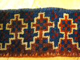 15144-Balutch Tent Band Hand-Knotted/Handmade Persian Rug/Carpet Tribal/Nomadic Authentic