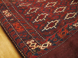 15116-Turkeman Sumac Bag Hand-Knotted/Handmade Persian Rug/Carpet Tribal/Nomadic Authentic