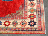 15582-Chobi Ziegler Hand-Knotted/Handmade Afghan Rug/Carpet Tribal/Nomadic Authentic