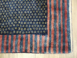 15434-Lori Gabbeh Hand-Knotted/Handmade Persian Rug/Carpet Tribal/Nomadic Authentic