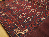 "15116-Turkeman Sumac Bag Hand-Knotted/Handmade Persian Rug/Carpet Tribal/Nomadic Authentic3'6"" x 2'10"""