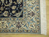 15059-Nain Hand-Knotted/Handmade  Persian Rug/Carpet Traditional Authentic