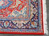15274-Sarough Hand-Knotted/Handmade Persian Rug/Carpet Traditional Authentic