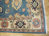 15069-Chobi Ziegler Hand-Knotted/Handmade Afghan Rug/Carpet Traditional Authentic