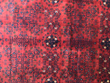 20986-Khal Mohammad Hand-Knotted/Handmade Afghan Rug/Carpet Tribal/Nomadic Authentic