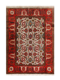 "22889 - Sarough Handmade/Hand-Knotted Persian Rug/Carpet Authentic/Size 4'7"" x 3'1"""