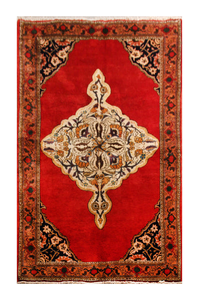 22867-Bidjar Handmade/Hand-Knotted Persian Rug/Carpet Authentic