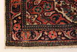 "22882 -Hamadan Hand-Knotted/Handmade Persian Rug/Carpet Traditional Authentic/Size 5'3"" x 3'9"""
