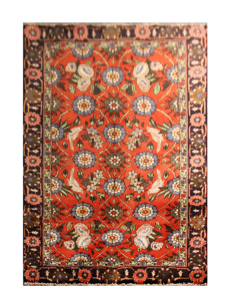 "22944 - Sarough Handmade/Hand-Knotted Persian Rug/Carpet Authentic/Size 5'0"" x 3'3"""