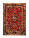 "22952 - Kashan Handmade/Hand-Knotted Persian Rug/Carpet Authentic/Size 4'7"" x 3'3"""