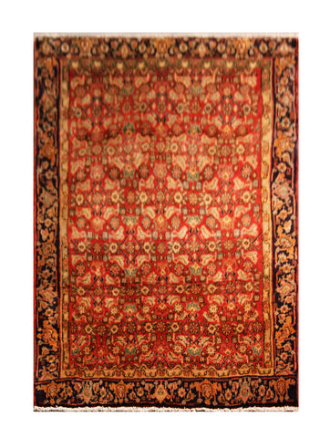 "22945-Bidjar Handmade/Hand-Knotted Persian Rug/Carpet Authentic/Size 4'11"" x 3'6"""