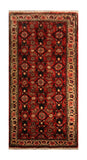"23067 - Hamadan Hand-Knotted/Handmade Persian Rug/Carpet Traditional Authentic/Size 4'0"" x 2'0"""