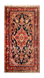 "23069 - Hamadan Hand-Knotted/Handmade Persian Rug/Carpet Traditional Authentic/Size 4'2"" x 2'2"""