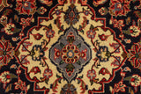 "23040 - Kashan Handmade/Hand-Knotted Persian Rug/Carpet Authentic/Size 11'9"" x 7'10"""