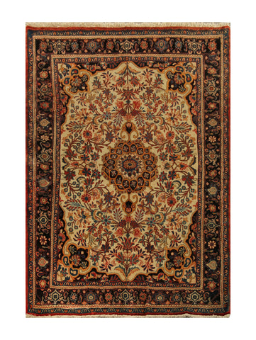 "22877-Bidjar Handmade/Hand-Knotted Persian Rug/Carpet Authentic/Size 6'6"" x 4'3"""