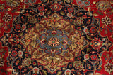 "23039 - Mashad Handmade/Hand-Knotted Persian Rug/Carpet Authentic/Size 11'3"" x 8'1"""