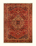 "23025 - Bakhtiar Hand-Knotted/Handmade Persian Rug/Carpet Traditional Authentic/Size 11'7"" x 8'2"""