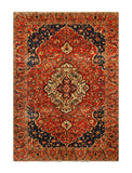 "23049 - Bakhtiar Hand-Knotted/Handmade Persian Rug/Carpet Traditional Authentic/Size 10'3"" x 6'9"""