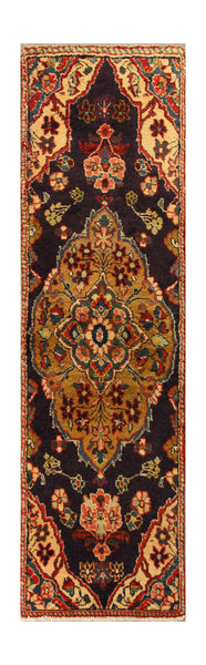 "22912 - Hamadan Hand-Knotted/Handmade Persian Rug/Carpet Traditional Authentic/Size 7'5"" x 2'0"""
