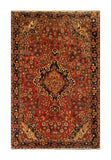 "22943 - Hamadan Hand-Knotted/Handmade Persian Rug/Carpet Traditional Authentic/Size 5'6"" x 3'5"""