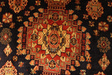 "22842 - Shiraz Persian Hand-weaved Authentic/Traditional Nomadic/Tribal Kelim/Size 9'3"" x 5'9"""