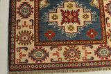 "23151 - Kazak Afghan Hand-knotted Contemporary/Modern Nomadic/Tribal Carpet/Rug/Size 15'9"" x 2'8"""