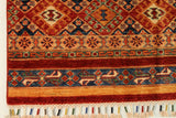 "23114 - Chobi Ziegler Hand-Knotted/Handmade Afghan Rug/Carpet Modern Authentic/Size 9'3"" x 2'8"""