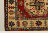 22658 - Kazak Hand-Knotted/Handmade Afghan Tribal/Nomadic Authentic