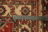 "22655 - Kazak Hand-Knotted/Handmade Afghan Tribal/Nomadic Authentic/Size 9'7"" x 2'7"""