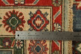 22726 - Kazak Hand-Knotted/Handmade Afghan Tribal/Nomadic Authentic