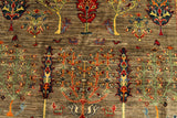 22611 - Chobi Ziegler Hand-Knotted/Handmade Afghan Rug/Carpet Modern Authentic