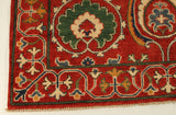 "22676 - Kazak Hand-Knotted/Handmade Afghan Tribal/Nomadic Authentic/Size 6'3"" x 4'2"""