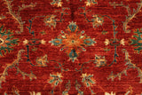 "22759 - Chobi Ziegler Afghan Hand-knotted Contemporary/Modern Carpet/Rug/Size 5'2"" x 3'5"""
