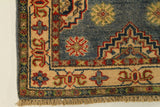 22822 - Kazak Afghan Hand-knotted Contemporary/Modern Nomadic/Tribal Carpet/Rug
