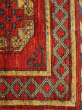 16068-Khal Mohammad Hand-Knotted/Handmade Afghan Rug/Carpet Tribal/Nomadic Authentic