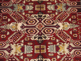 16060-Shirvan Hand-Knotted/Handmade Azerbaijan Rug/Carpet Tribal/Nomadic Authentic